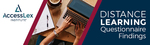 Distance Learning Questionnaire Findings by AccessLex Institute